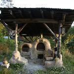 A cob oven