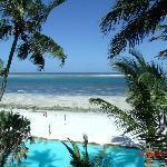 What a view - white sandy powder beach