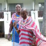 Masai and their weekly stalls