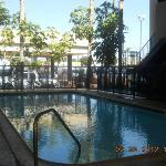 shaded pool