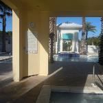 Resort Pool hot tub