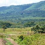 Eastern edge of the Rift Valley--Kigio's location