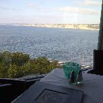 View from table