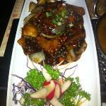 Pork and Mushroom.