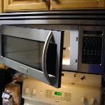 Microwave door falling off hinges unit 1201