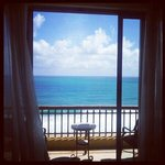 Vista del mar desde una de las suite jr.