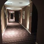 spa hallway