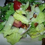 The house salad with toasted pecans!