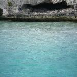 Cave where we snorkeled