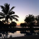 vista a la laguna desde Fiesta Inn Tampico