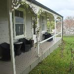 part of the front verandah