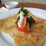 Murtabak at Munch Cafe N' Grill