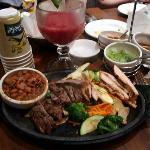 Beef fajitas at Abuelo's