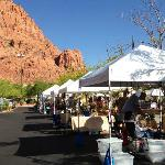 Tuachan Saturday am 'market' - artists, crafts, food, nice