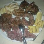 Mixed grilled meat Plate