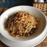 thai fried noodels