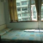 Double room, view on Nathan Road, not noisy, 12th floor