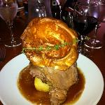 Magnificent roast beef & Yorkshire Pudding