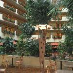 Atrium in hotel