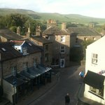 View from Room 4 at Herriot's in Hawes
