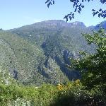 vistas desde el camping