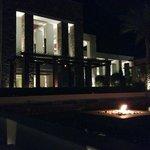 widok noca na recepcje