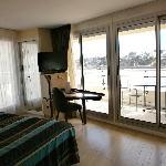 Chambre twin terrasse sur mer