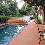 Small pool/ garden area