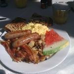 Frühstück .... lecker......
