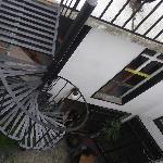 acceso a terraza
