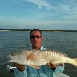 Capt. Joe with a redfish