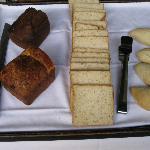 Complimentary breakfast - breads