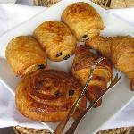 Complimentary breakfast - Pastries