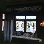 original master bedroom window seat