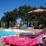 pool area Villa Avrilio