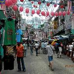 view of petaling st china town