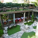 salon terrasse et salle du petit déjeuné