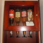 Minibar spirits