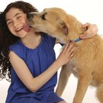 ANNIE the Musical stars Lilla Crawford (Annie) and Sunny (Sandy)