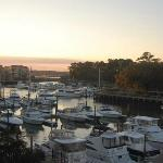 The view from Shelter Cove Harbour--the best on HHI!