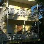 Cabana with private deck, hammock and bicycle