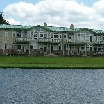 Rear View of the Fairway Suites, from the Golf Course
