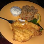 Fried Grouper which was good
