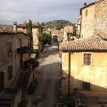 Lugnano village, from the Assisi suite.