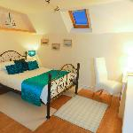 Bedroom no.2, comprising of one double bed with en-suite and shower.