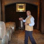 Stefano in his winery