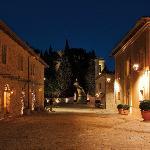 The Borgo at night