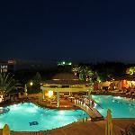 Ambassador Hotel pool area
