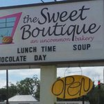 The Sweet Boutique... an uncommon bakery