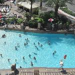 View of wave pool